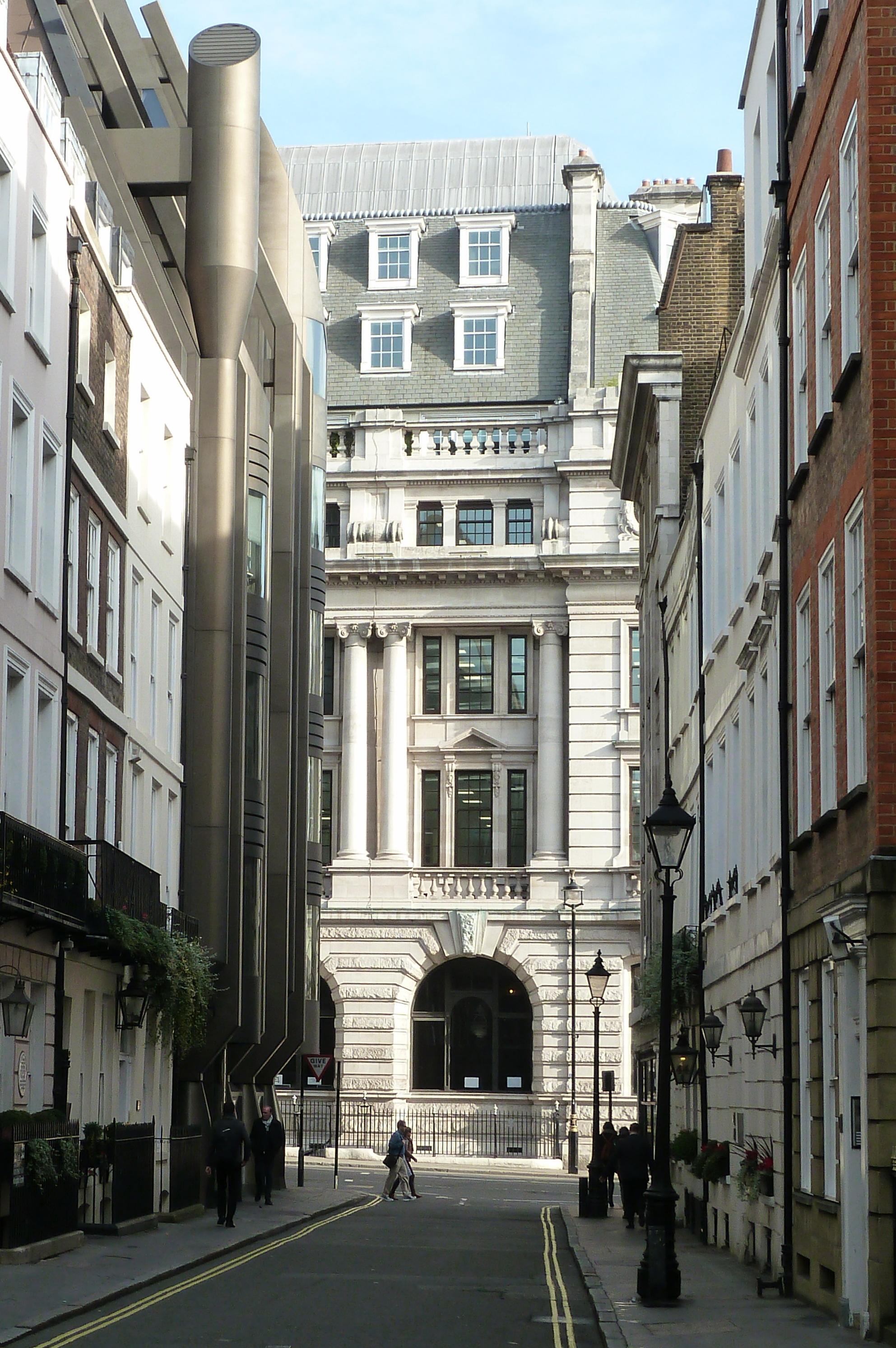 London contrast
