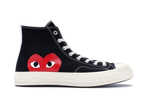 Converse Chuck Taylor All-Star - 70s Hi Comme fed Garcons PLAY Black