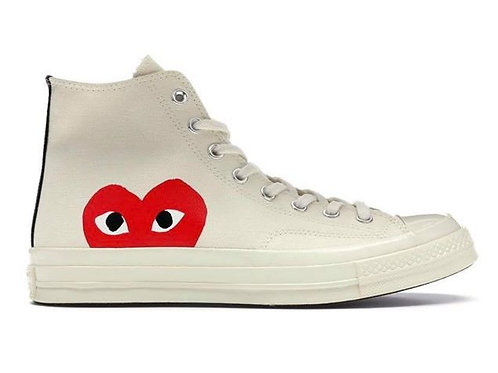 Converse Chuck Taylor All-Star - 70s Hi Comme fed Garcons PLAY White