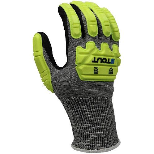 Stout Smls Knit Cut Resistant Foam Glove