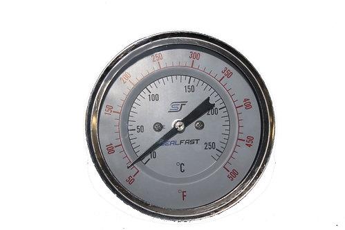 """Thermometer 3"""" X 6"""" 500 Deg"""