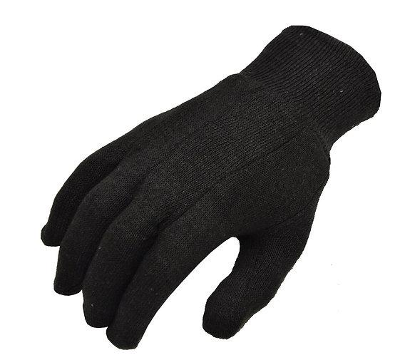Brown Jersey Cotton Glove