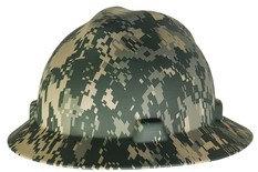 MSA Camo Full Brim Hard Hat