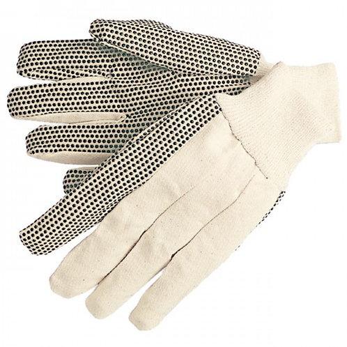 Cotton Work Glove 8 Oz Dotted