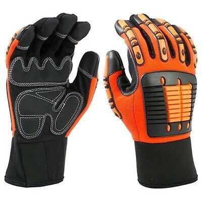 Impact Glove Leather Palm