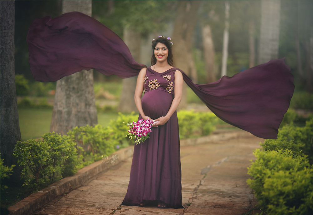 Maternity photo session, Hyderabad
