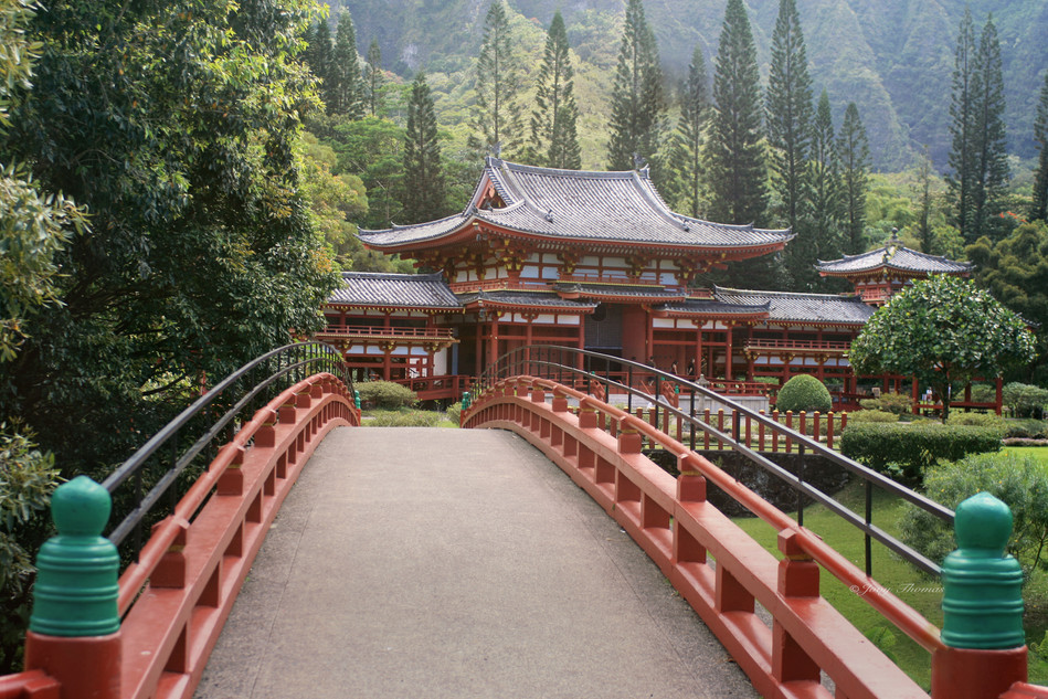 The Byodo-In Temple, Hawaii