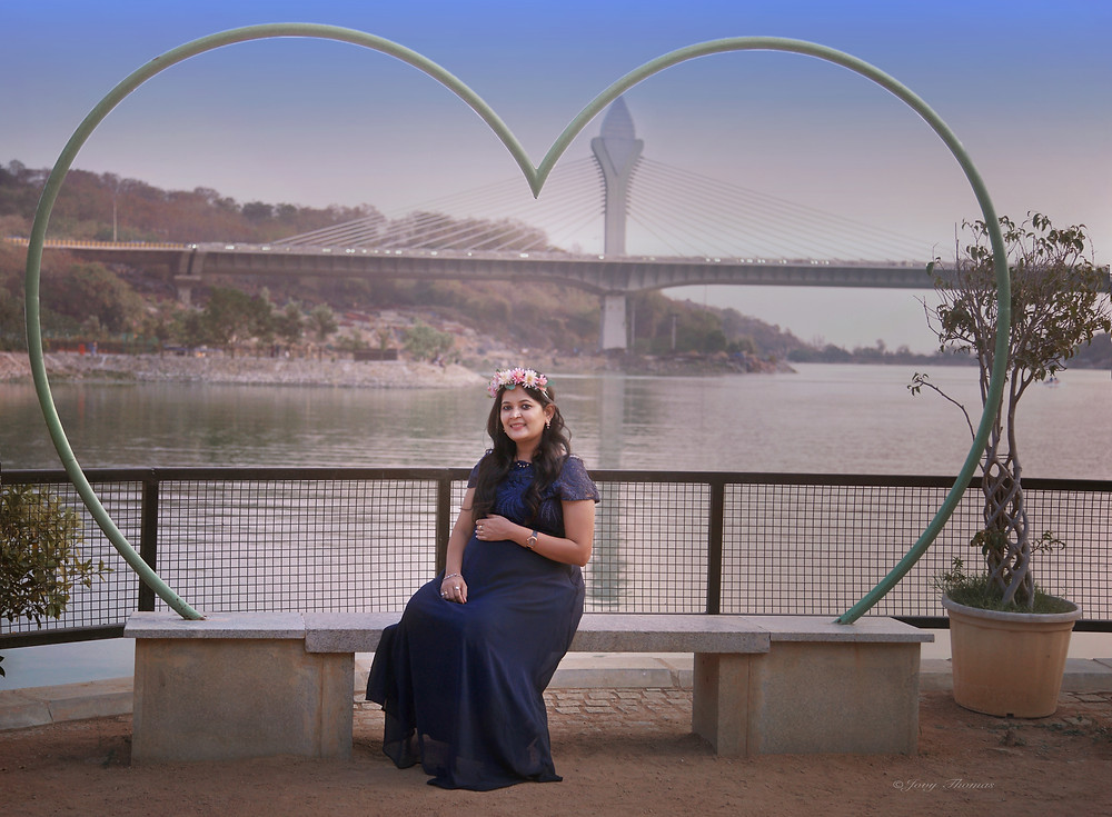 Maternity Photosession, Hyderabad, India. By: Jovy Thomas