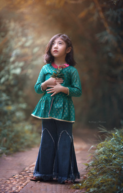 Kids portraits India