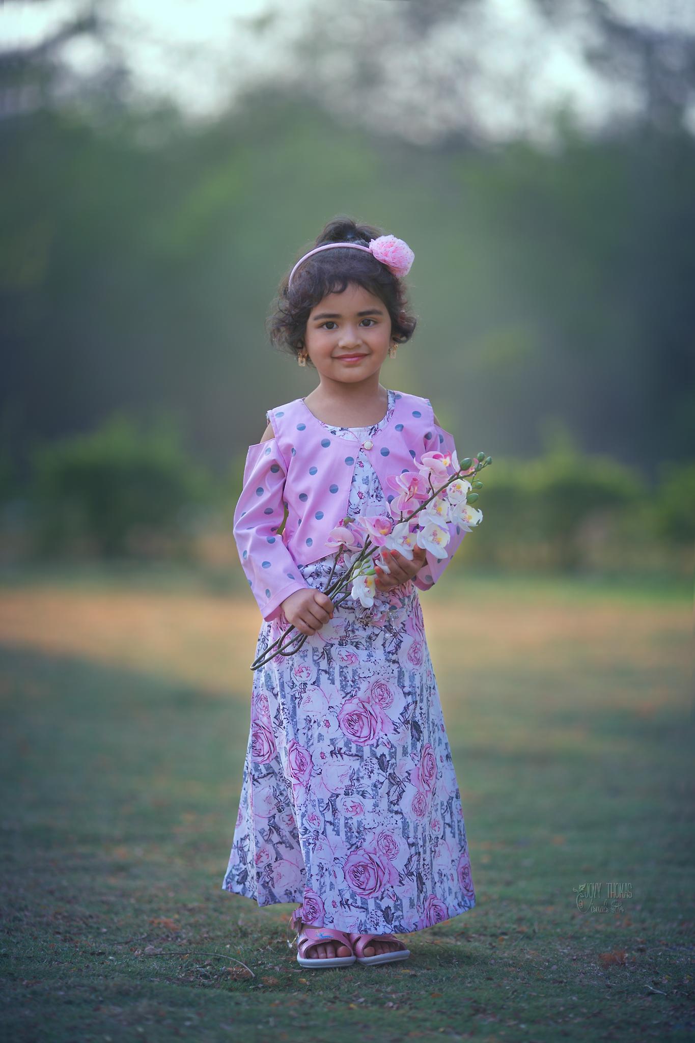 Little girls photo session Hyderabad