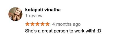 Client reviews, Jovy Thomas Visuals
