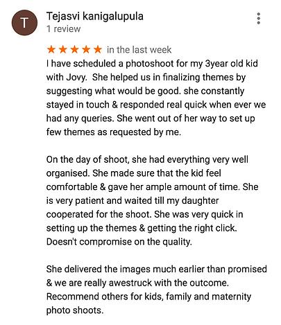 Customer Reviews Jovy Thomas