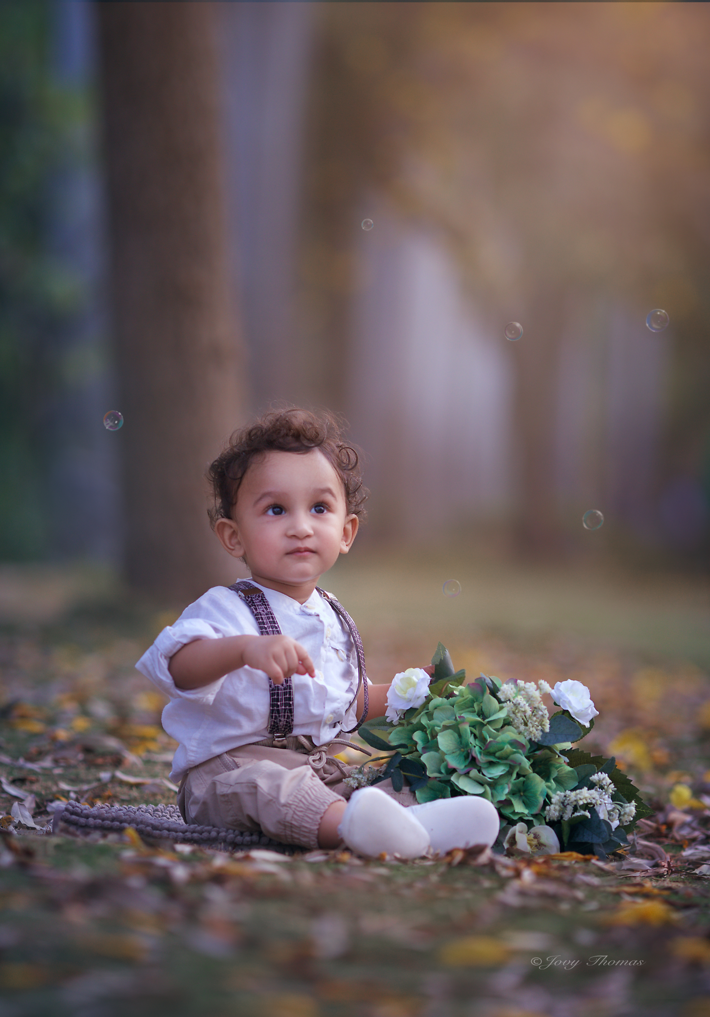 Baby photo session