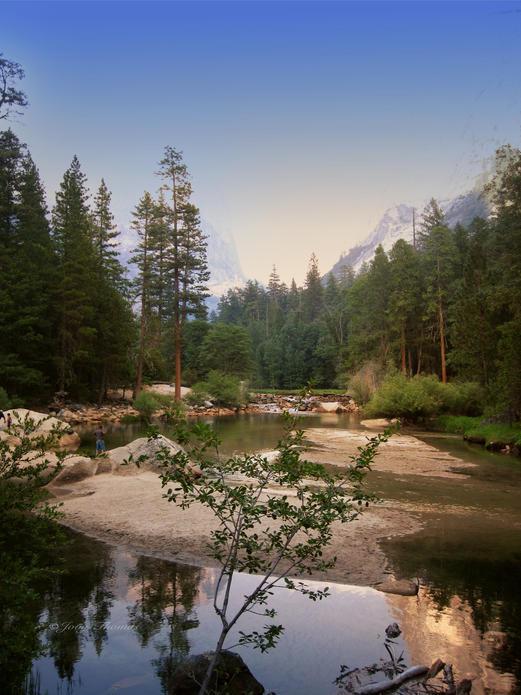 Yosemite Lake, California