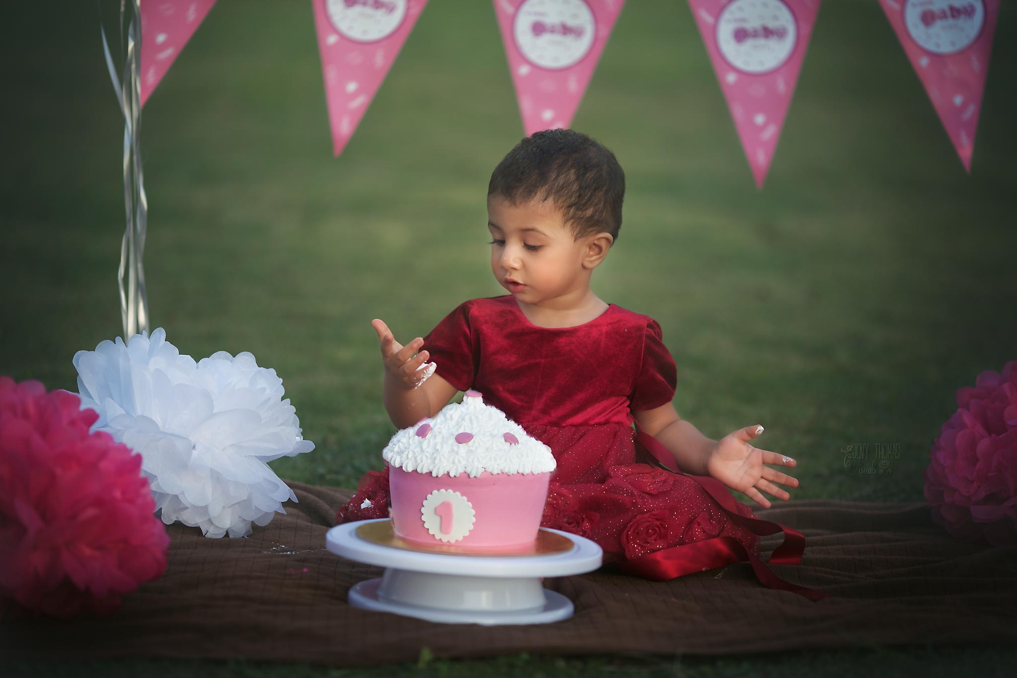 Cake smash session, Hyderabad