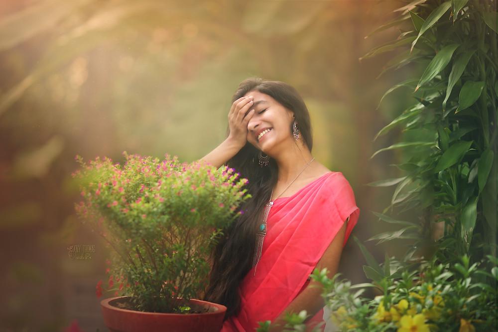 Model portfolio shoot India