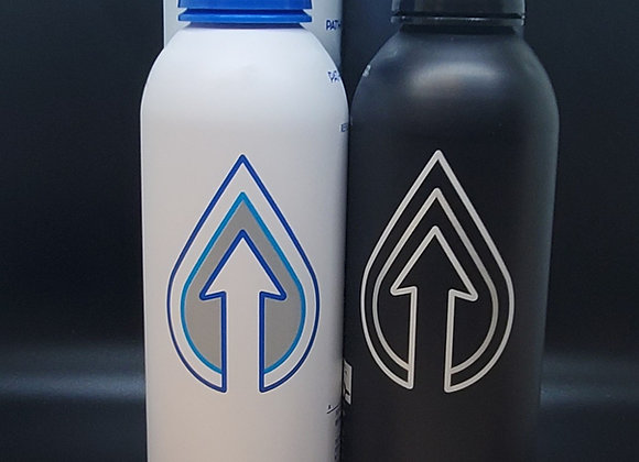 Path refillable water bottles