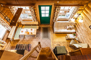 View from Loft of Koru Cottage