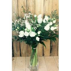 Bouquet blanc aéré