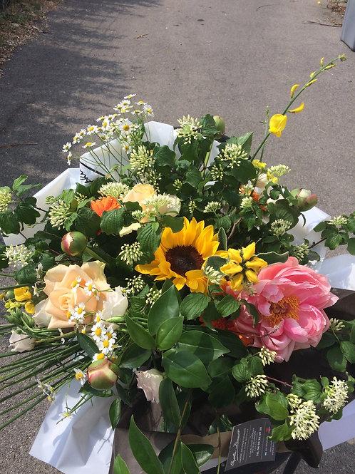 Bouquet de saison coloré