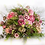 Thumbnail: Beau bouquet rond rose et vert   ( photo non contractuel)