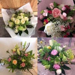 Bouquet confiance du fleuriste (photo non contractuel)