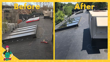 colorado commerial roof before and after