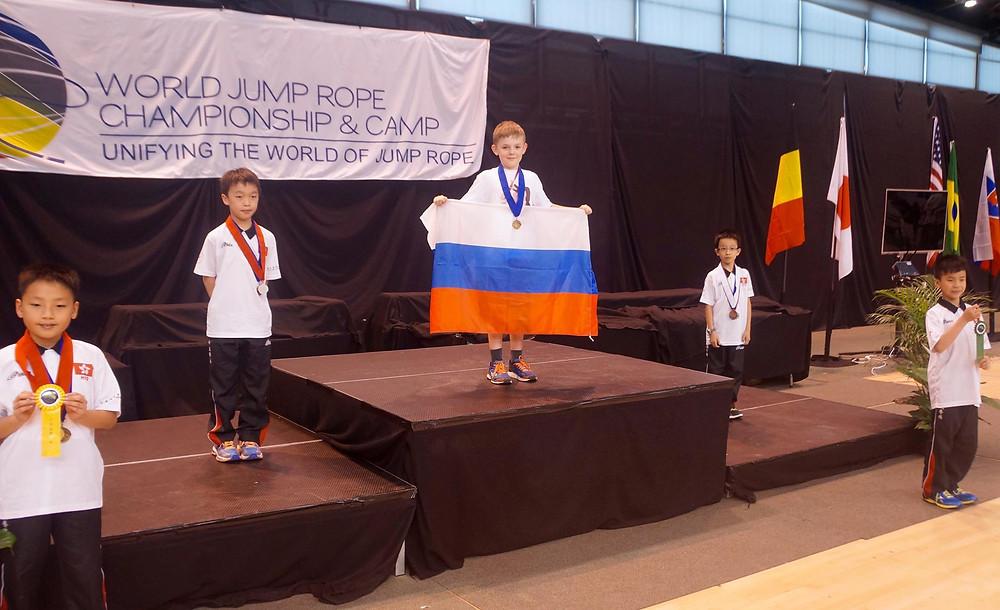 Чемпион мира Егор Казаков