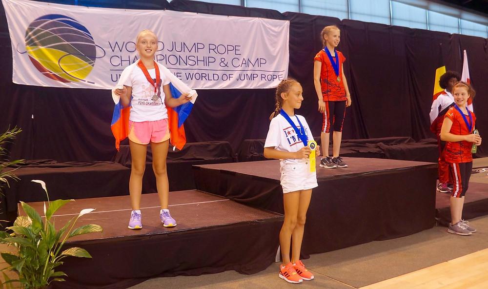 Вице-чемпионка мира Даша Кошева