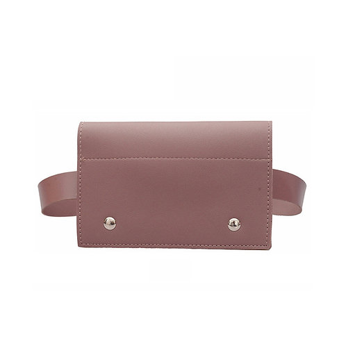 "Allure Dusty Rose ""Split"" Crossbody & Belt Bag"