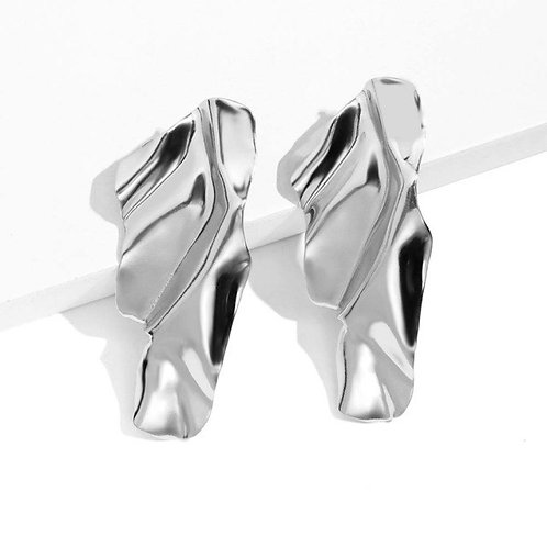 Milanetta Silver Femme Earrings