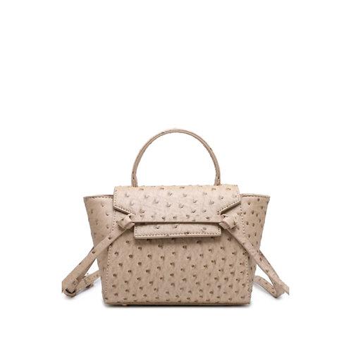 Allure Beige Ostrica Handbag