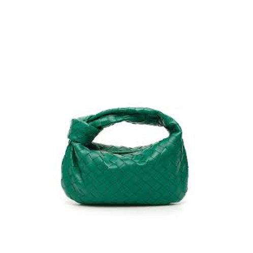 Allure Green Knot Bag