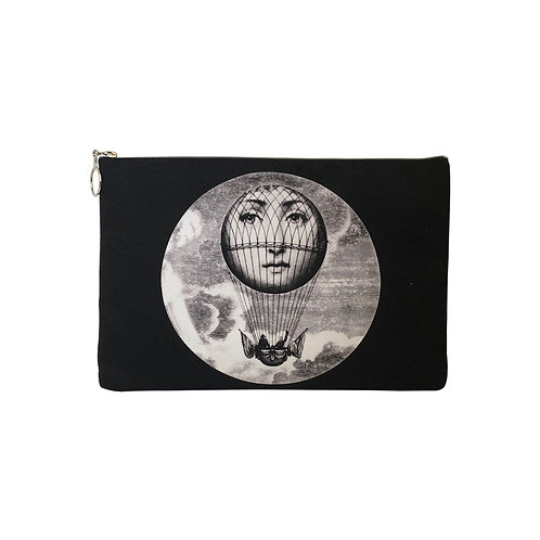 Milanetta Black Angel Makeup Pouch