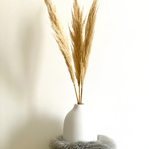 Neutral Pampas Grass Arrangement