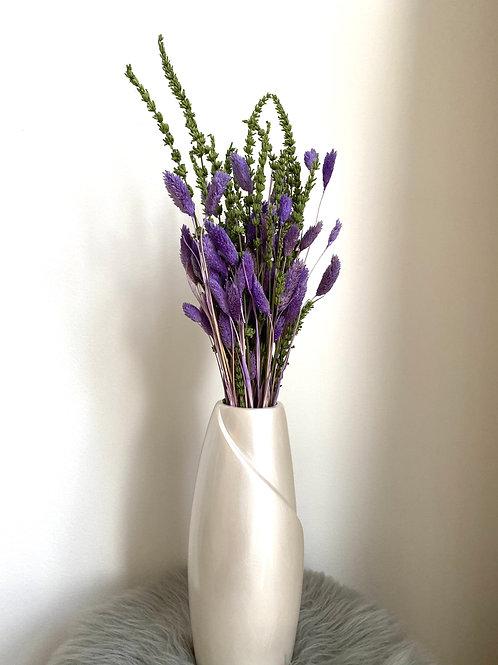 Purple Phalaris Flower Arrangement