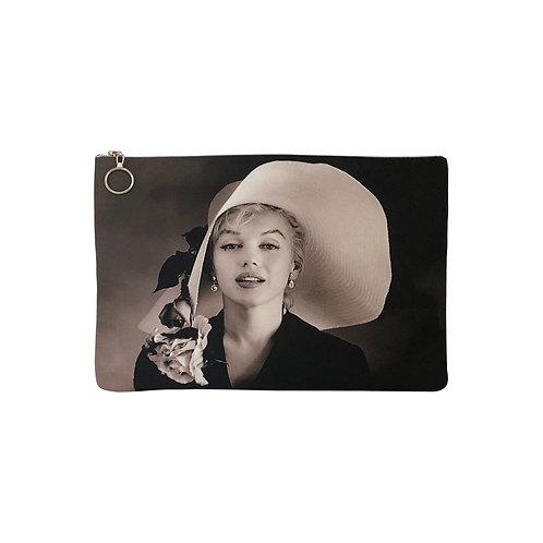 Milanetta Monochrome Marilyn Monroe Makeup Pouch
