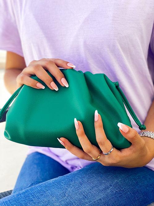 Allure Green Mini Pouch Bag
