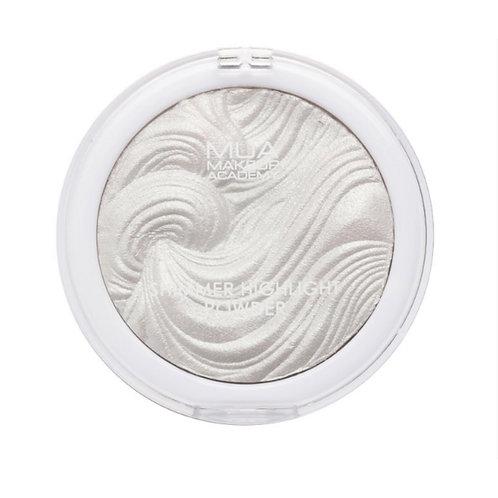 Makeup Academy Highlighting Powder Undress Your Skin - Silver Wonder