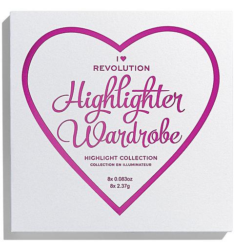 I Heart Revolution Highlighter Wardrobe
