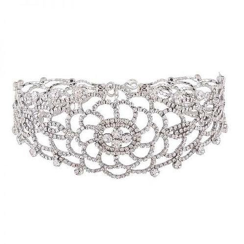 Milanetta Royalty Crystal Choker