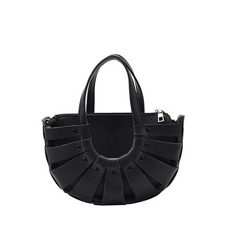 Allure Black Shell Bag