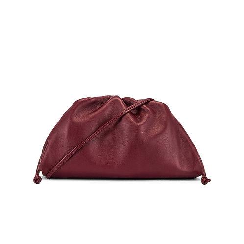 Allure Maroon Medium Pouch Bag