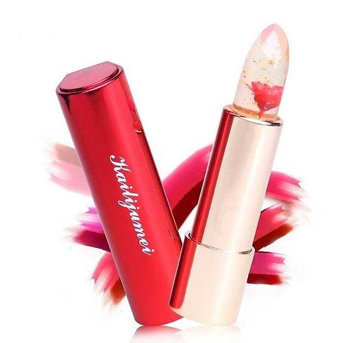 "Kailijumei ""Flaming Red"" Flower Lipstick"