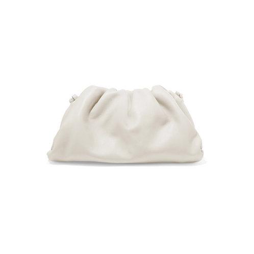 Allure White Mini Pouch Bag