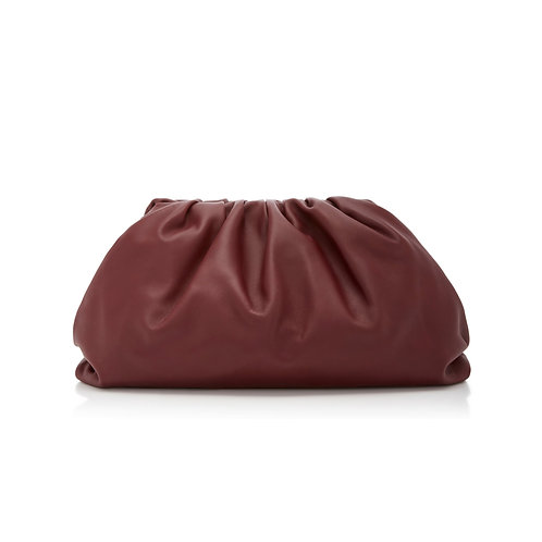 Allure Maroon Large Pouch Bag