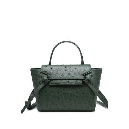Allure Green Ostrica Handbag