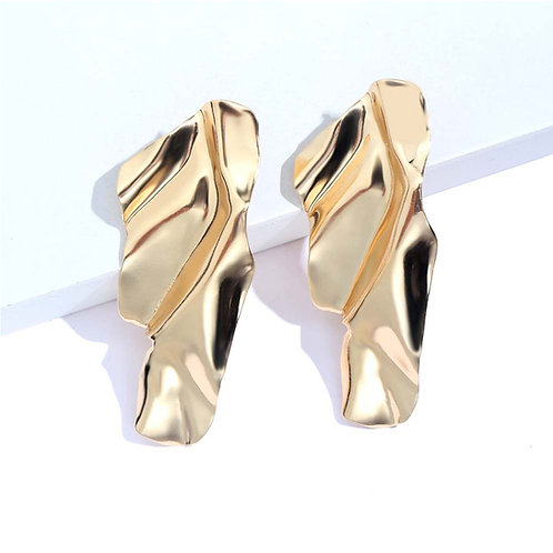 Milanetta Gold Femme Earrings