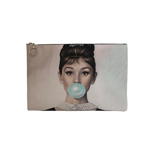 Milanetta Ombré Audrey Hepburn Makeup Pouch