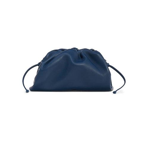 Allure Navy Blue Mini Pouch Bag